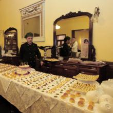 Buffet all'Hotel Roma di Scanno